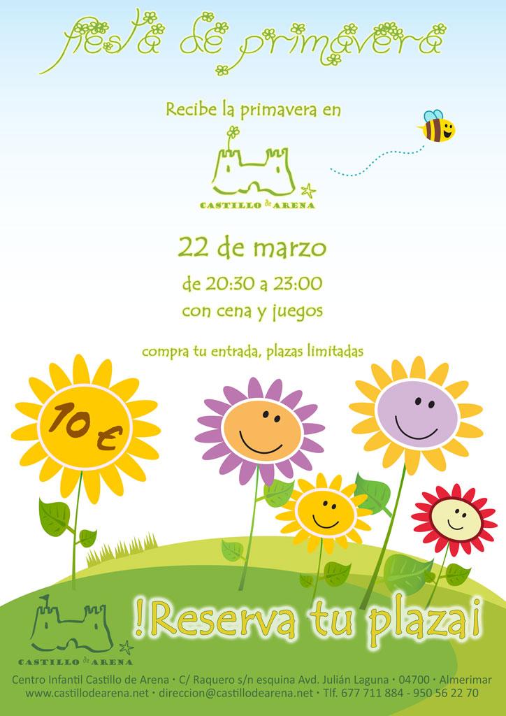 Cartel Fiesta de la primavera