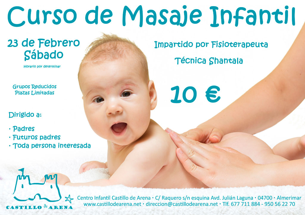 Curso de masaje infantil